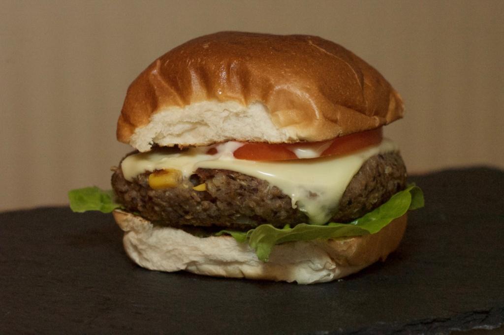 Veggie Burger - WaldstadtBBQ