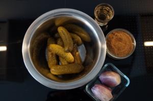 Gurkenrelish - ein Allrounder beim BBQ (WaldstadtBBQ)