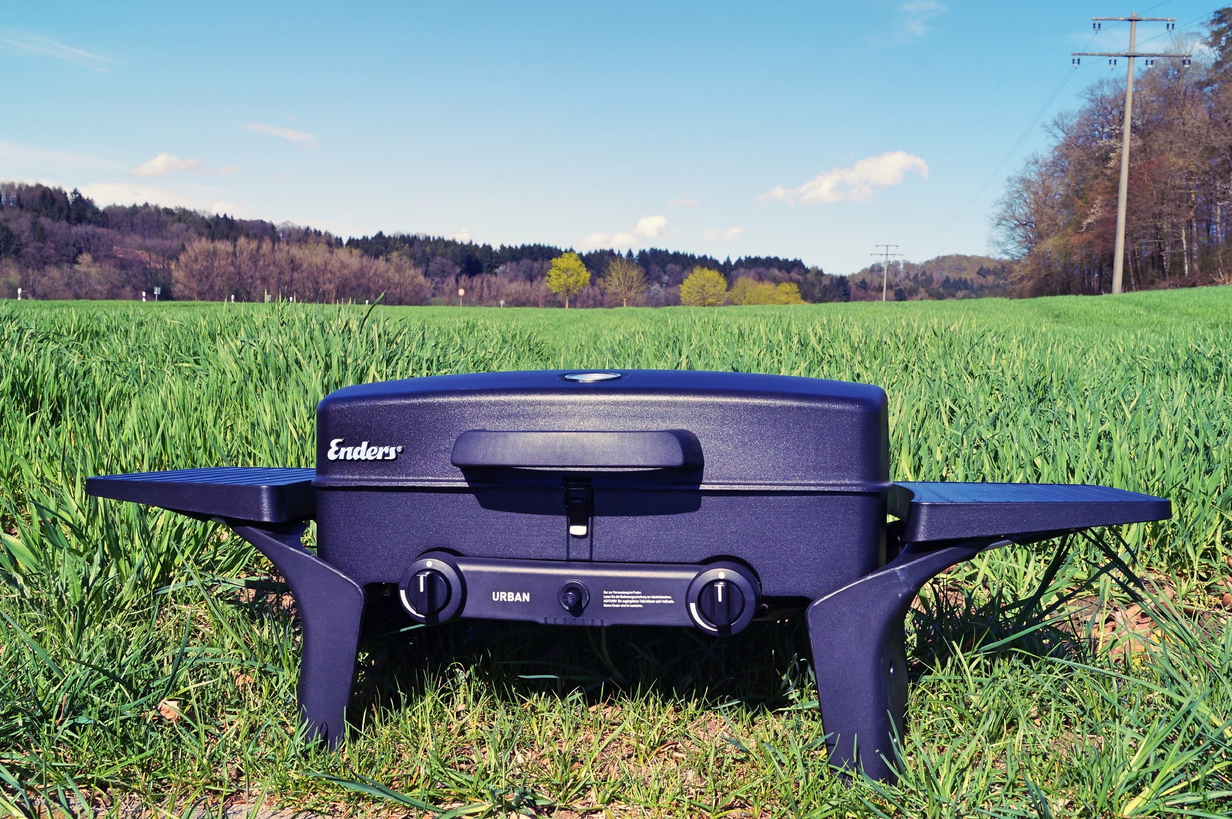 Enders Gasgrill Urban Pro Vario : Enders urban gas bbq unboxing test grill cook bake