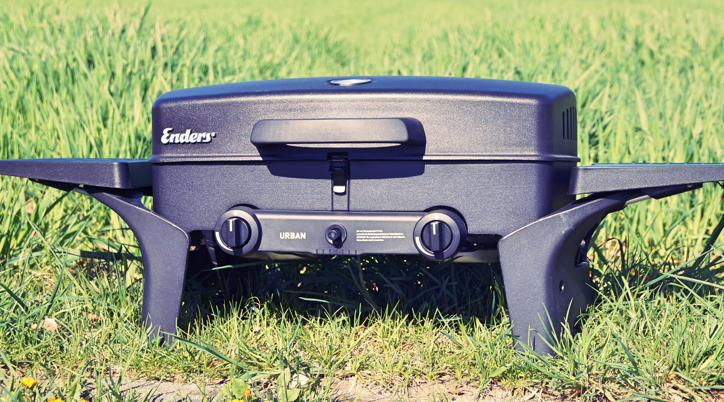 Enders Gasgrill Camping : Enders urban grill ein erster praxistest