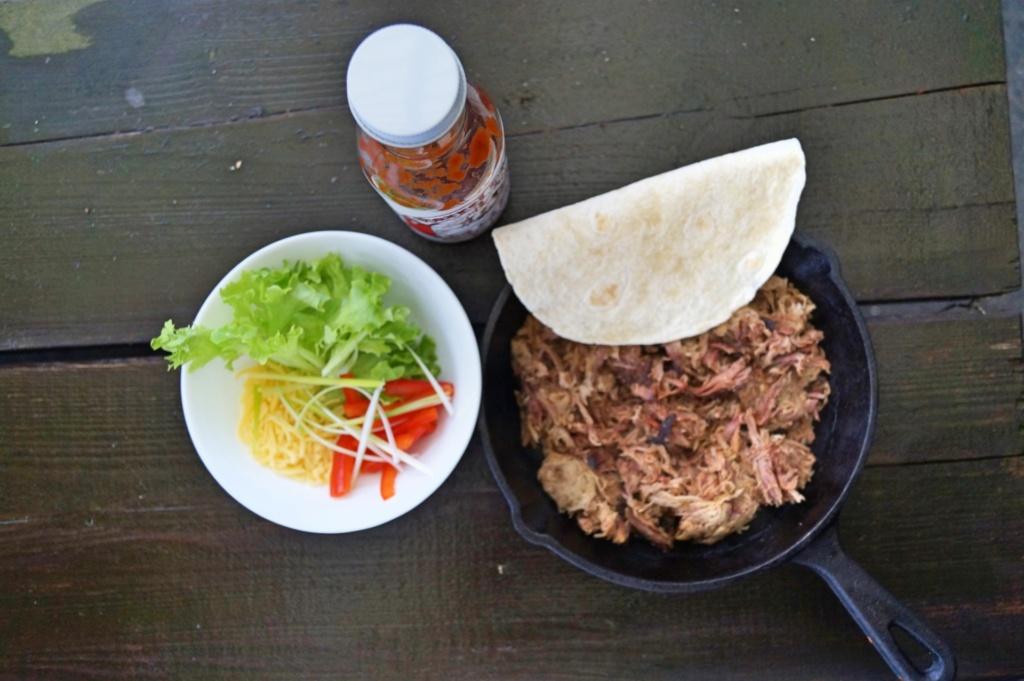 Pulled Pork Tortilla - 2 einfache Varianten