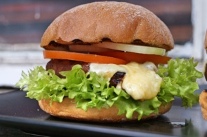 Portobello Cheese Burger