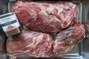 Wildschwein Pulled Pork Burger - gewürzt mit Waidmannsheil von Spicebar