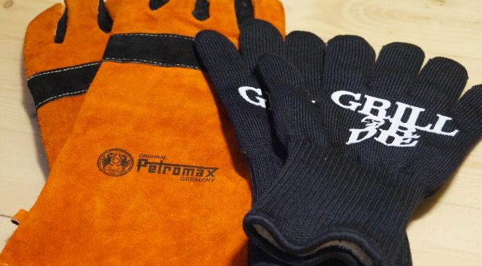 Grillhandschuhe im Test - Petromax und Grill or Die
