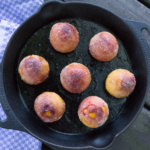kandierter Pfirsich vom Grill | WaldstadtBBQ