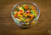 Avocado Salsa - Pico de Gallo Avocado