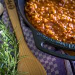 BBQ Bohnen - BBQ Beans aus der Petromax fp35h