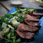 Appetizer - Flap Meat Steak mit Rucola