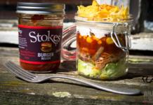 Pulled Pork Schichtsalat - Fingerfood für die nächste Party
