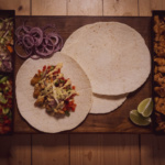 Super Bowl Party Food - Chicken Wrap