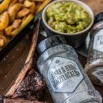 Salz und Pfeffer von Ankerkraut / frische Guacamole und Pommes