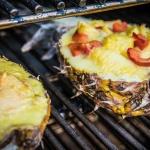 Gefüllte Ananas mit Kikok-Hähnchen