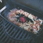 Rouladen vom Grill aus der Weber BBQ Keramik Kasserolle