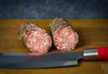 Salami Wurst im Dry Ager DX 500 selber machen - Das Ergebnis