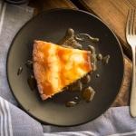 Salty-Caramel Cheesecake - Käsekuchen mit Salz-Karamell