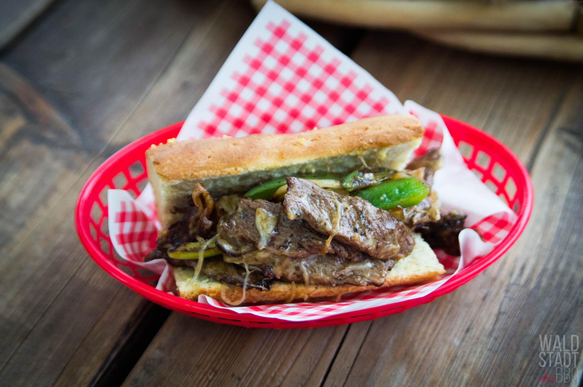 Philly Cheese Steak Sandwich - Rezept in Kooperation mit Don Carne (Silvester 2018)