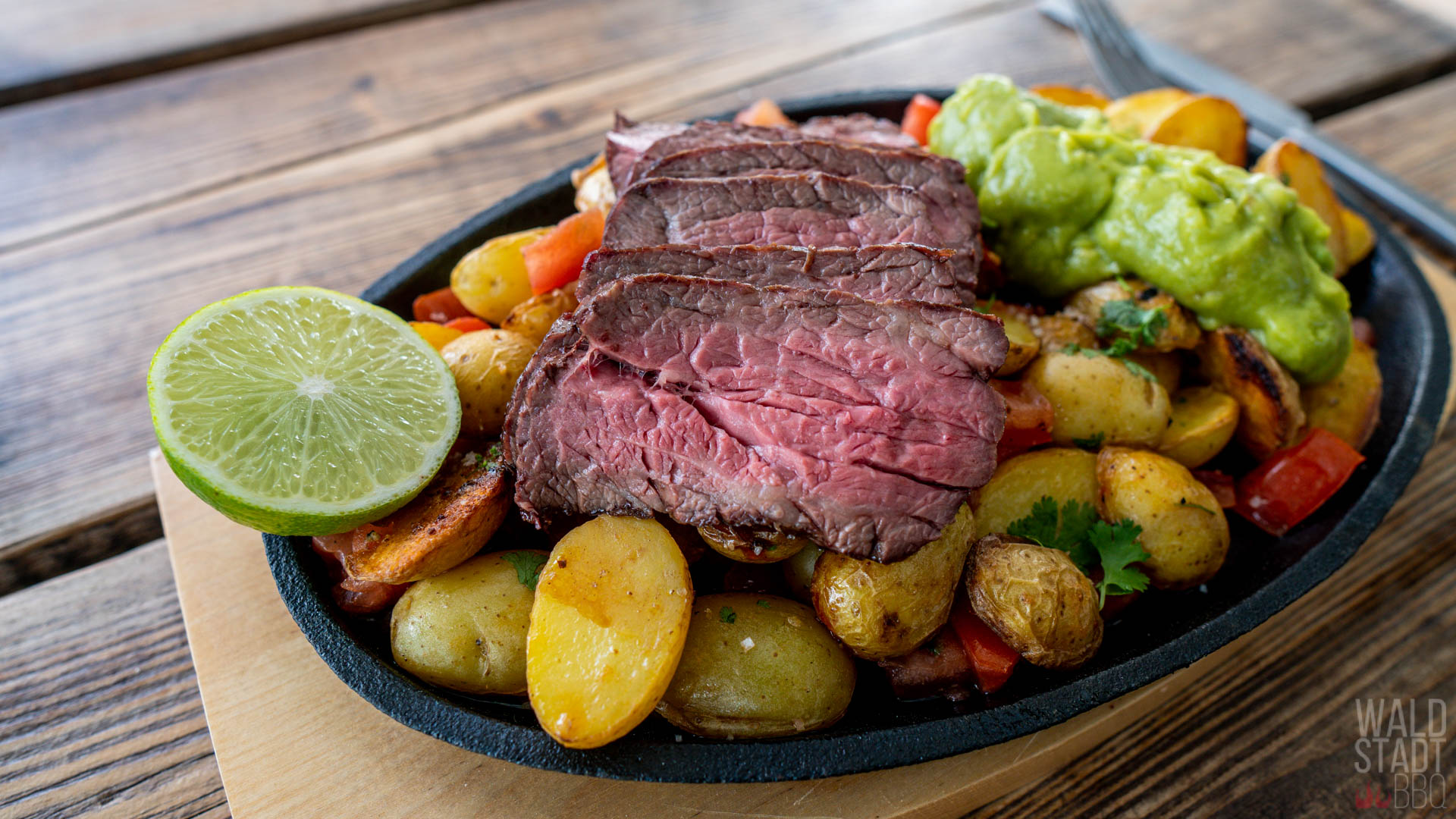 Carne Asado - US Flap Meat als schnelles Rezept